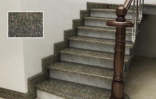 gạch giả đá lát cầu thang