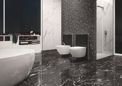 Có nên sử dụng gạch giả đá lát nhà vệ sinh cho thiết kế công trình phụ?