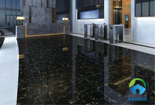Có nên sử dụng gạch giả đá màu đen cho không gian thiết kế của bạn?