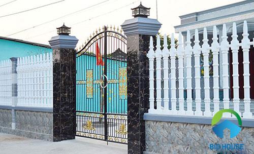 Hướng dẫn chọn gạch giả đá ốp cổng cho thiết kế ngôi nhà của bạn