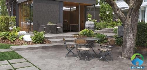 gạch lát sân vườn chống trơn 1