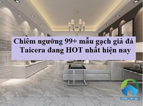 Chiêm ngưỡng 99+ mẫu gạch giả đá Taicera đang HOT nhất hiện nay