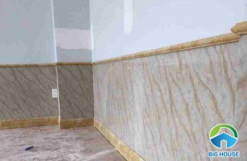gạch giả đá ốp chân tường 2