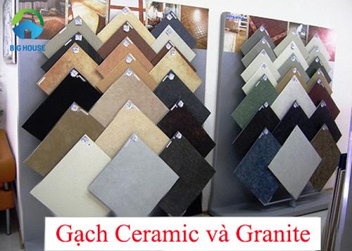 phân biệt gạch ceramic và granite 2